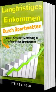 """Das Buchcover von """"Langfristiges Einkommen durch Sportwetten"""""""