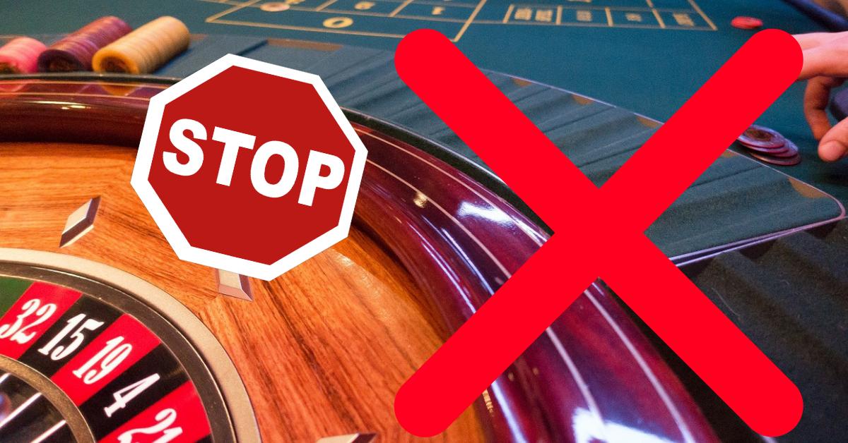 Casino Verbot